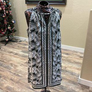 Max Studio Sleevless Dress w/Built in Shelf Bra